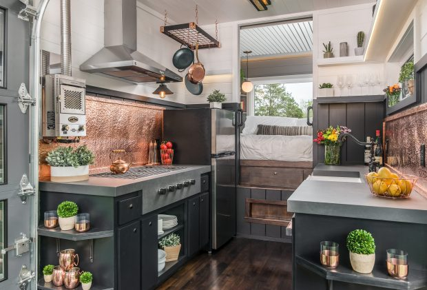 More About The Escher Tiny Home New Frontier Tiny Homes